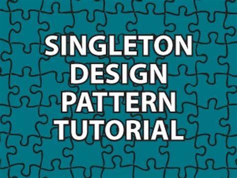 singleton pattern youtube vdyoutube download video quot singleton design pattern tutorial
