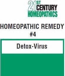 Virus Or Detox by 21st Century Homeopathics Remedy 4 Detox Virus 4