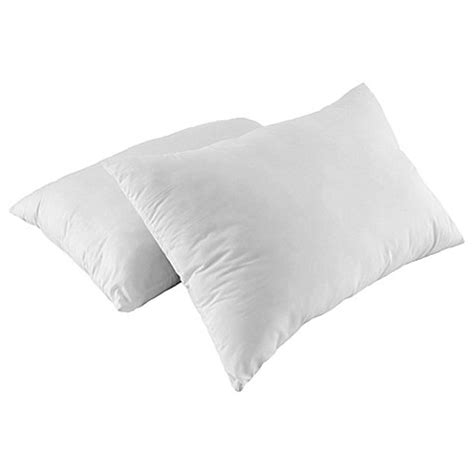 bed bath and beyond feather pillow st james home nano feather pillows set of 2 bed bath beyond