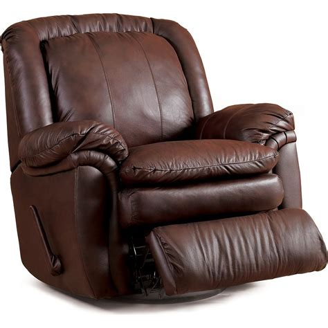 lane leather swivel rocker recliner recliner dimensions