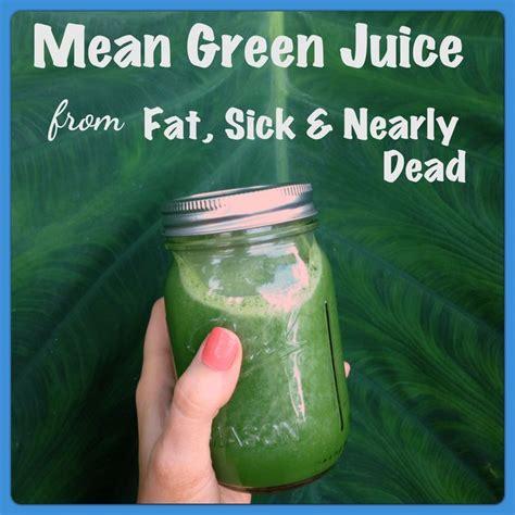 Juicing Detox Sick And Nearly Dead by Sick Nearly Dead Juice Recipe From Joe Cross