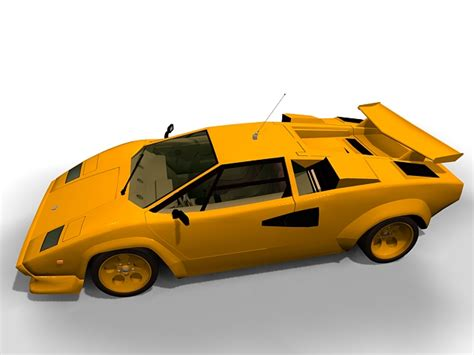 Lamborghini Diablo Models by Lamborghini Diablo Gt 3d Model 3ds Max Files Free