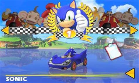 sonic and sega all racing apk free sonic sega all racing for android free sonic sega all racing apk