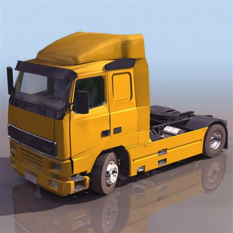 volvo truck model volvo fh16 heavy truck 3d model 3ds files free