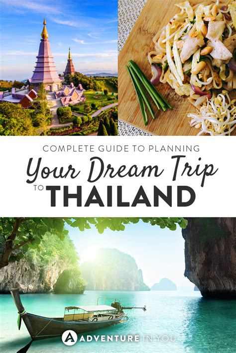 thailand the s travel guide books complete guide to planning your trip to thailand