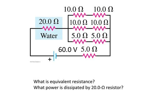 what power is dissipated by the resistor in the figure what is equivalent resistance what power is dissi chegg