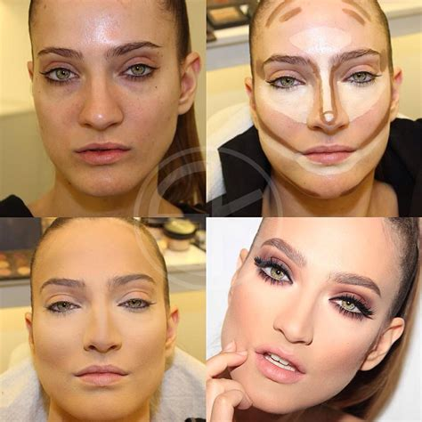 Makeup Contour how to contour and highlight zone
