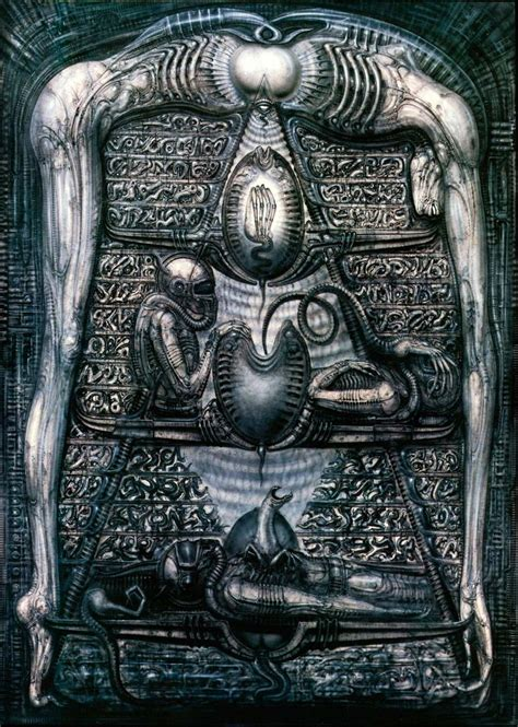 Outer Space Wall Murals the monkey buddha h r giger rip