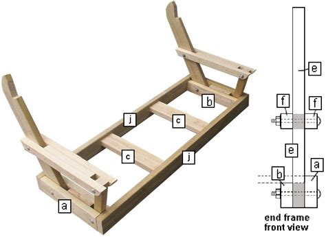bench swing frame plans how to make a bench swing the seat frames