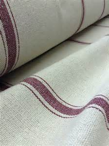 grain sack fabric farmhouse fabric fabric burgundy