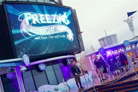 themes line frozen micechat disney cruise line disney cruise line