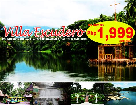 villa escudero villa escudero day tour official website of gjm