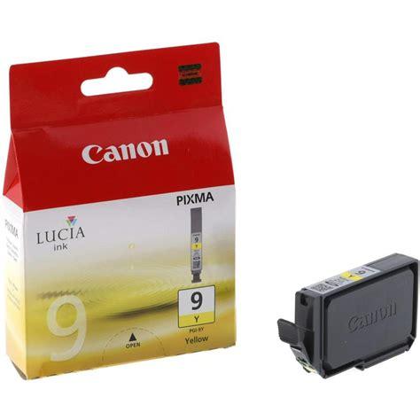 Canon Pgi 9 Cartridge Yellow canon pgi 9y inkjet cartridge yellow
