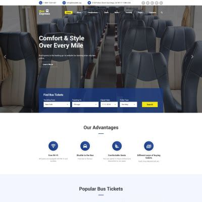 bootstrap themes transport transportation bootstrap themes templatemonster