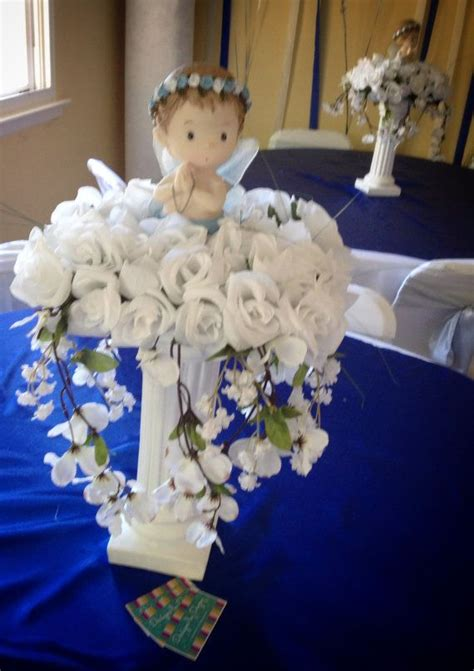 centerpieces for boy baptism 17 best ideas about boy baptism centerpieces on