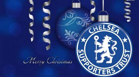 chelsea xmas merry christmas chelsea supporters trust