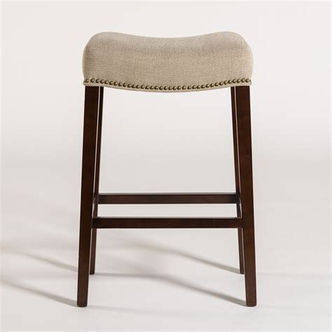 Saddle Counter Stools by Saddle Counter Stool Alder Tweed Furniture