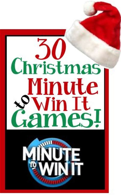 christmas holiday theme minute to win it games