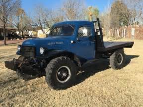 1950 dodge dodge power wagon flat bed low for