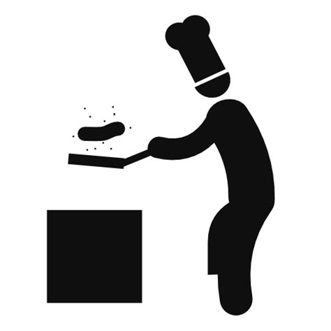 Kitchen Design Logo by Chef Is Cooking Icon Download Free Icons