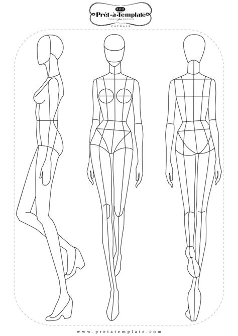 fashion designer drawing template 25 unique fashion templates ideas on fashion