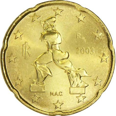 20 buro cent 20 cent 1st map italy numista
