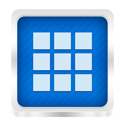 Drawer App by App Drawer Icon Boxed Metal Icons Softicons
