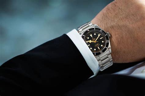 Hands On The Tudor Heritage Black Bay Black Reference Black On Wrist