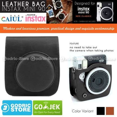 Tas B Enciaga Neo Classic Mini fujifilm leather bag polaroid instax mini 90 neo classic