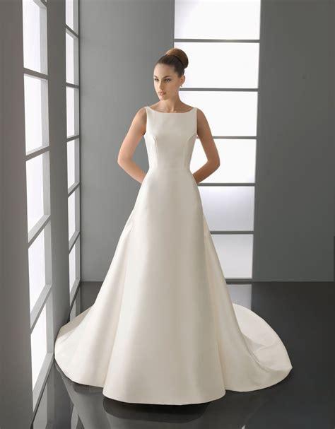 bridal collection  elegant white square neckline