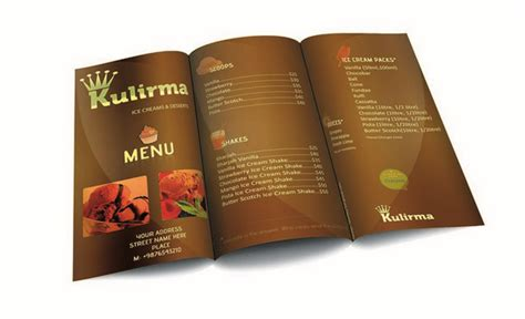 menu card design templates 50 free restaurant menu templates food flyers covers