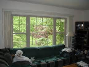 How To Paint Interior Windows by Almond Replacement Windows With White Painted Interior Trim