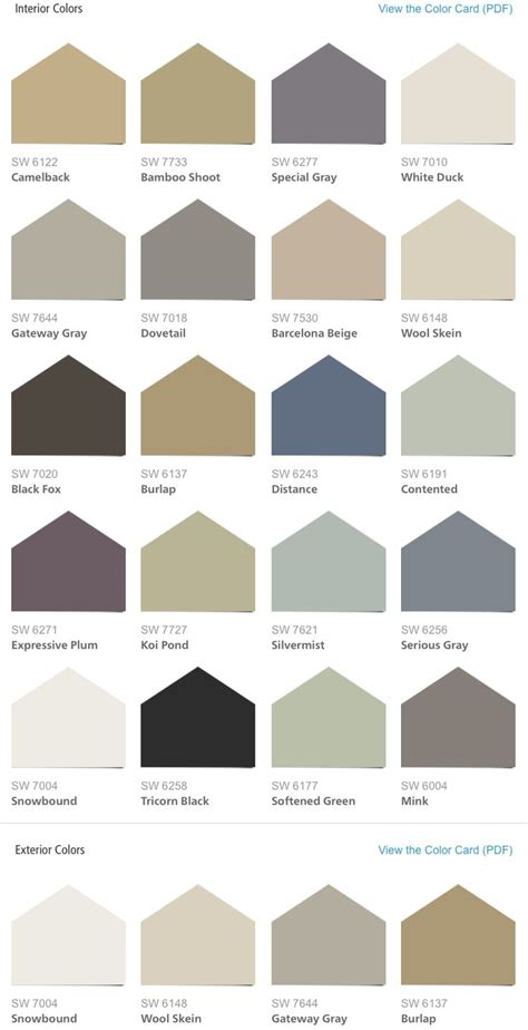 sherwin williams hgtv home liveable luxe color palette s home color