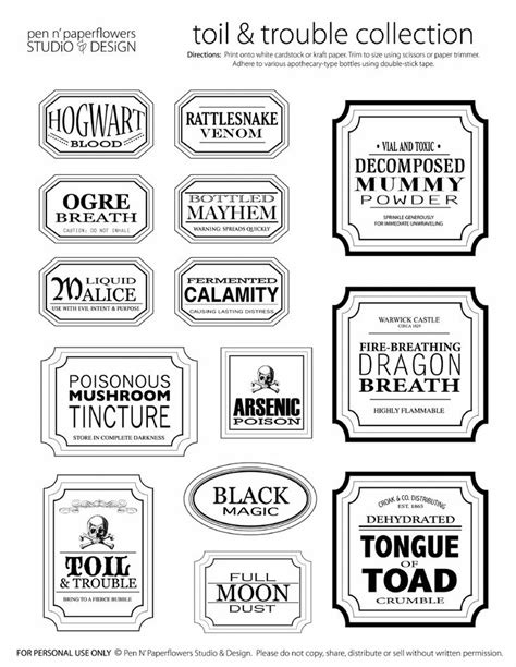 free printable jar stickers free halloween printables printables halloween