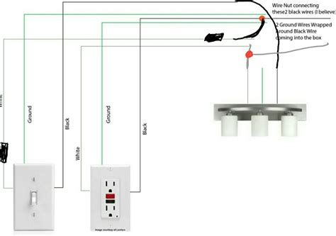 black white and light wiring wiring diagram schemes