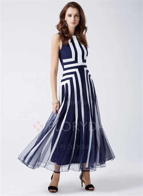 Maxi A Line geometric sleeveless maxi a line dress floryday