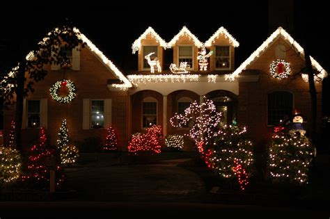 christmas decorated home 9 incredible home christmas light displays goedeker s