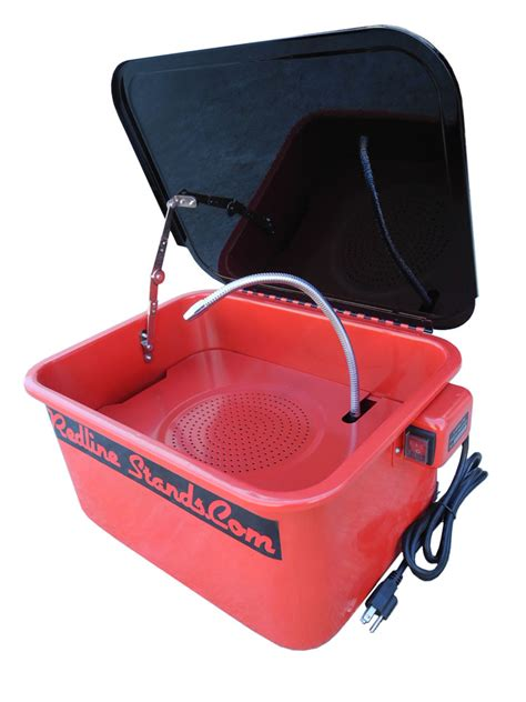 bench parts washer new redline engineering 3 5 gallon bench top parts washer cabinet 110v