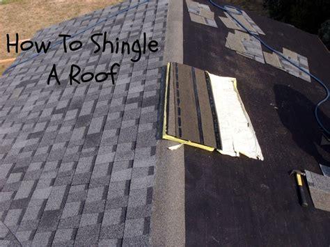 shingle  roof laying asphalt shingles homestead