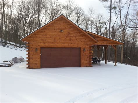 Log Garage Apartment Plans by Kiln Dried Log Siding By Timberhaven