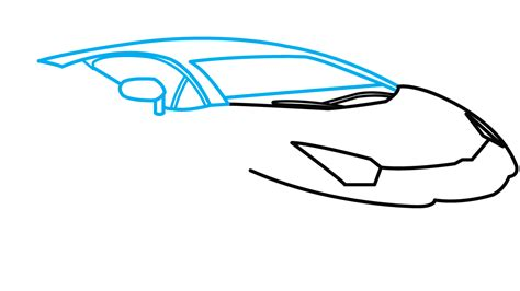 lamborghini car drawing how to draw lamborghini aventador a car easy by