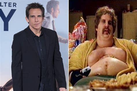 big fat actors ben stiller actors in fat suits zimbio