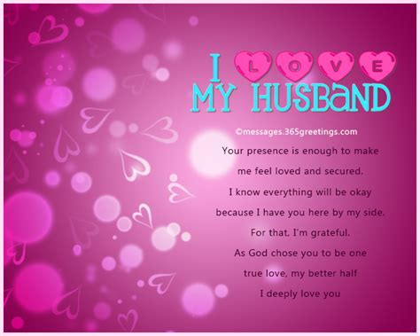 special message to my husband messages for husband 365greetings
