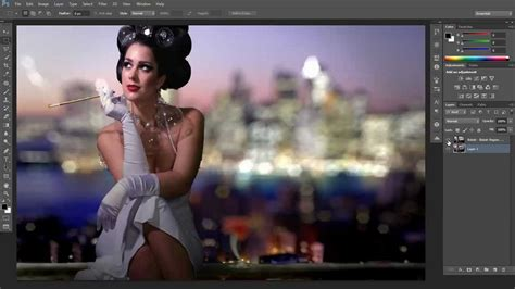 tutorial of adobe photoshop cs6 adobe photoshop cs6 bokeh tutorial youtube