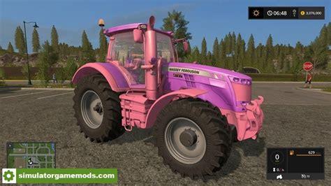 Extremely Girly Ds Mod by Fs17 Massey Ferguson Girly Tractor V1 Simulator