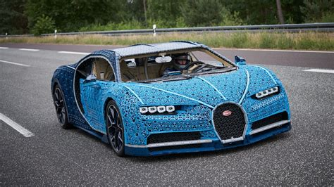 bugatti made this driveable bugatti chiron is made out of 1 million