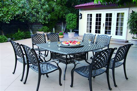 metal dining room tables outdoor metal square dining room table seats 8 with black
