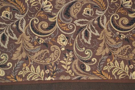 Gray And Brown Valance Findlay Mill Creek Cocoa Brown Gray Toile Valance 17 X