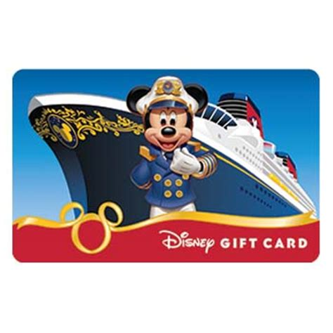 Seaworld Gift Card - your wdw store disney collectible gift card cruise line captain mickey cruise