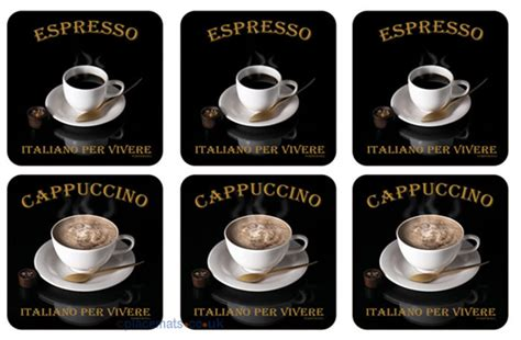 cafe ita placemats co uk pimpernel cafe italiano coasters
